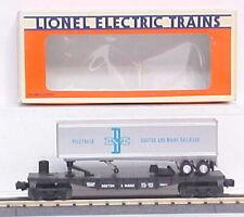 Lionel 6-16911 Boston and Maine Flatcar with Piggyback Trailer LN/Box