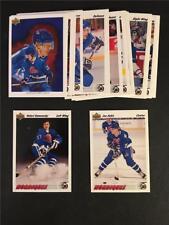 1991/92 Upper Deck Quebec Nordiques Team Set 28 Cards