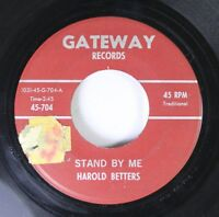 Hear! R&B Jazz Popcorn 45 Harold Betters - Stand By Me / Rambunction On Gateway
