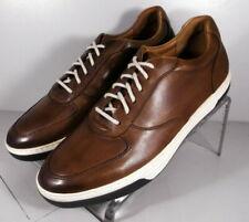 252682 ES38 Men's Shoes Size 9.5 M Brown Leather Lace Up Johnston & Murphy