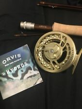 Orvis Hydros Reel And Orvis Access Fly Rod with case