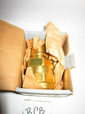 "PARKER BH12-61L 60 SERIES BRASS  QUICK COUPLING MALE NIPPLE 1 1/2"" (F1)"