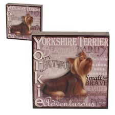My Pedigree Pals 8209 Dog Picture Wall Art Yorkshire Terrier Yorkie