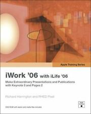 Apple Training Series: iWork 06 with iLife 06, Very Good Books