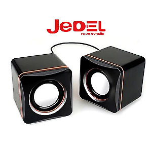 PC Computer Laptop Speakers USB STEREO 2.0 6W Desktop Clear Sound LED Universal