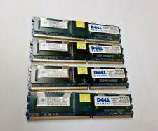 Nanya/Samsung 16GB 4x4gb PC2-5300F DDR2 FBD desktop MEMORY MODULE