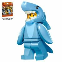 LEGO 71011 MINIFIGURES Series 15 #13 Shark Suit Guy with unused code