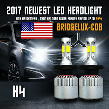 CREE 252W 25200LM H4 9003 HB2 LED Headlight Kit Bulbs Hi/Low Beam 6500K White