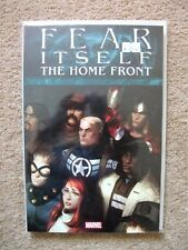 FEAR ITSELF: THE HOME FRONT (Marvel Softcover Graphic Novel), NEW