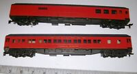 "2 X Heavy-Weight Rivarossi Replicas of ""1926 Cardinal's Train"" HO Passenger Cars"