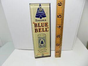 Ringer Bluebell Tobacco Palm Push Finger Plate Shop Advertising Glass Sign c1929