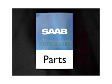 SAAB GENUINE METAL DEALERSHIP PARTS DEPARTMENT SIGN SIGNAGE EXTREMELY RARE NEW