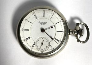 Waltham 1883 Crescent St 18s 15j Pocket Watch.