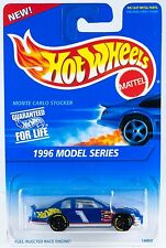 Hot Wheels #440 1996 Model Series Monte Carlo Stocker GoodYear 7SP's New On Card