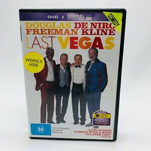 Last Vegas (DVD, 2014) Regions 2&4 With Michael Douglas In Very Good Condition