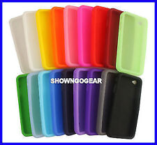 10 LOT WHOLESALE iPhone 4S 4G Apple Silicone Rubber Jelly Bean Soft Case Cover