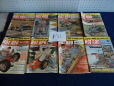 Hot Rod Magazine ( 1961 ) group of 8  ( missing July-Aug.-Oct.-Dec.)