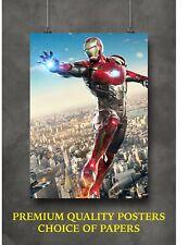 Iron Man Avengers Movie Large Poster Art Print Gift A0 A1 A2 A3 Maxi