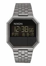 Nixon Orologio Re-Run All gunmetal