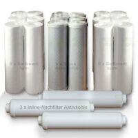 Ersatzfilterset Osmose Umkehrosmose  für 3 Jahre Set 1 Ersatzfilter 10 Zoll (45,