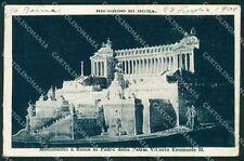 Roma Città Altare della Patria cartolina XB4931