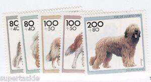 1999 Germany Sc #B792-96 ** MNH VF - Dogs stamp set