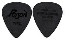POISON Guitar Pick : 2006 20th Anniversary Tour Puerto Rico black