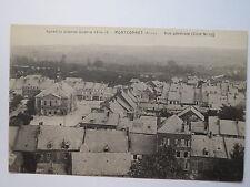 MONTCORNET-apres la Grande Guerre 1914-19 - Vue générale-La Côte-nord/AK