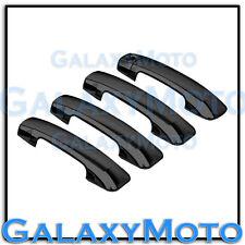 07-13 TOYOTA TUNDRA CREW MAX BLACK Chrome 4 Door Handle no PSG Keyhole Cover
