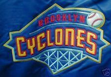 BROOKLYN CYCLONES SATIN JACKET MEDIUM NEW METS NY-PENN  FREE SHIPPING