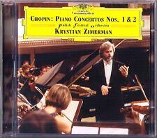 Krystian ZIMERMAN: CHOPIN Piano Concerto No.1 2 DG 2CD Klavierkonzerte Polish FO
