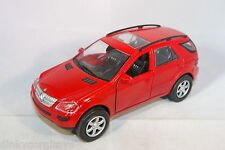 WELLY MERCEDES BENZ ML-CLASS ML 500 RED MINT CONDITION