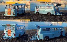Volkswagen T2 Gulf 1:43 artigianale pezzo unico hand made custom