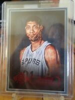 2015-16 PANINI COURT KINGS TIM DUNCAN RED ! /100 SPURS !