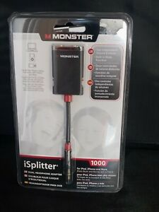 Monster iSplitter 1000 Y-Splitter with Volume Control/Mute for iPod, iPhone
