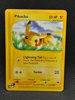 POKÉMON⚡PIKACHU⚡124/165~EXPEDITION~NEAR MINT/MINT~ENGLISH