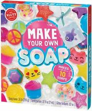 Make Your Own Soap by Klutz Editors and Scholastic (2017, Hardcover)