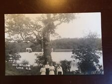 Postcard Red Willow Lake ND  A. E. Anderson Tolna, ND