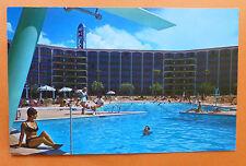 FRONTIER HOTEL Las Vegas Postcard 1967 BUILDING UNUSED
