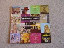 Various: Rediffusion Stereo Sampler LP: 1972 UK Release.