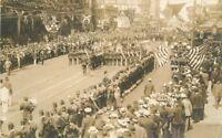 1916 Shine Parade SEATTLE WASHINGTON RPPC Real photo postcard 3653