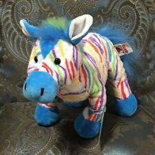 Webkinz Rainbow Zebra, NWT & Sealed Code  **FAST Ship **Smoke-Free Stock