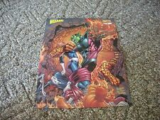 "Fantastic Four Super Skrull Fray Double Sided Poster Wizard 14"" x 10"""