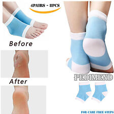 8PCS OF Gel Heel Sleeve & Plantar Fasciitis Socks BY PEDIMEND™ - Foot Care