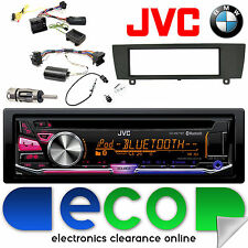 BMW 3 Series e91 JVC Bluetooth CD mp3 USB IPOD STEREO AUTO KIT di interfaccia dello sterzo