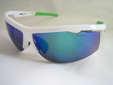 CARRERA SUNGLASSES 4001/S 07R IW WHITE BLUE MIRROR INTERCHANGEABLE LENS GENUINE