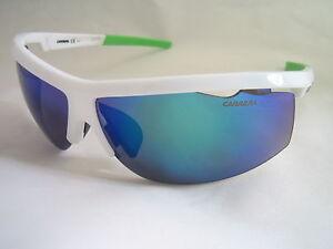 CARRERA SUNGLASSES 4001/S 07R IW WHITE BLUE MIRROR INTERCHANGEABLE LENS GENUINE