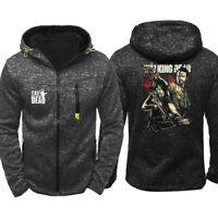 The Walking Dead Hoodie Warm Jacket Sports Sweatshirt Full-Zip Coat Spring coat