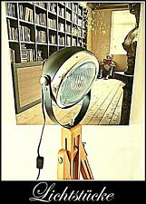 Tripod Retro Holz Stativ Steh Lampe - Leuchte - Scheinwerfer mit LED - Bauhaus
