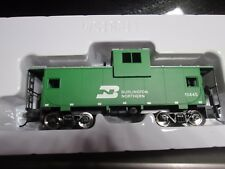 RTR WALTHERS TRAINLINE BURLINGTON NORTHERN CABOOSE METAL WHEELS  car 1/87 #11445